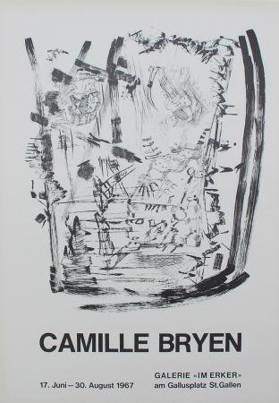 Литография Bryen - Untitled (Exhibition poster)
