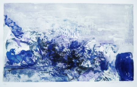 Литография Zao - Untitled (from: A la gloire de l'image)