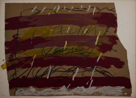 Литография Tàpies - Untitled from 'Berlin Suite' portfolio