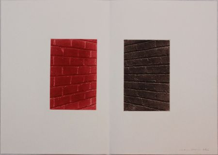 Офорт И Аквитанта Gibson - Untitled from 'Metafora' portfolio