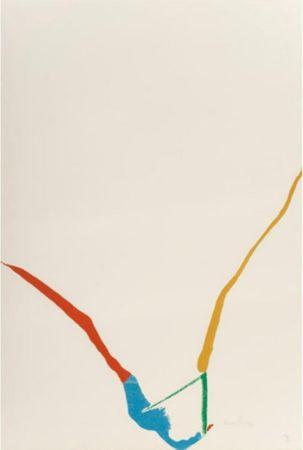 Многоэкземплярное Произведение Frankenthaler - Untitled from ''What red lines can do'',