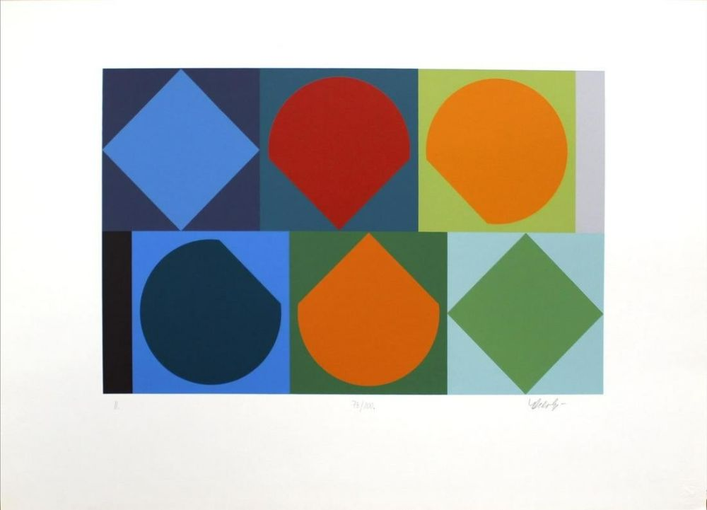 Сериграфия Vasarely - Untitled II