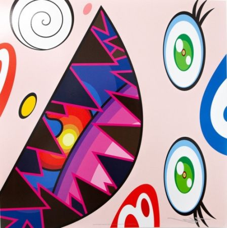 Литография Murakami - Untitled II from We Are the Square Jocular Clan,