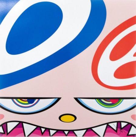 Литография Murakami - Untitled III from We Are the Square Jocular Clan,