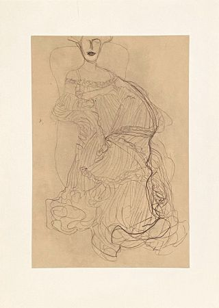 Литография Klimt - Untitled II.XIV
