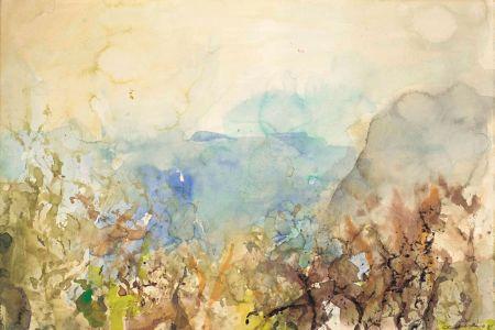 Нет Никаких Технических Zao - Untitled Landscape 1985