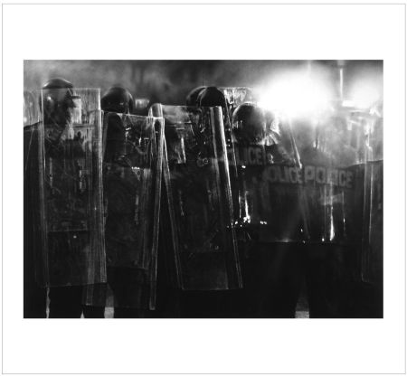 Многоэкземплярное Произведение Longo - Untitled (Riot Cops)