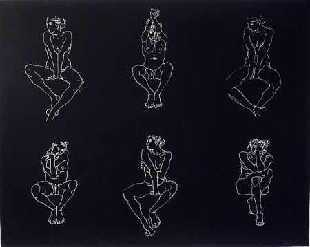 Сериграфия Graham - Untitled, Six Nudes