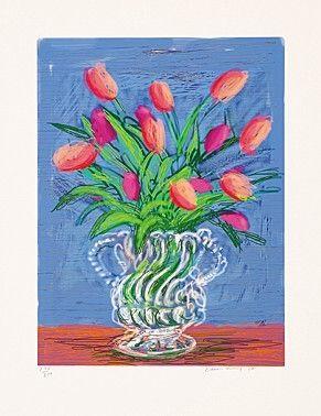 Иллюстрированная Книга Hockney - Untitles 346 in