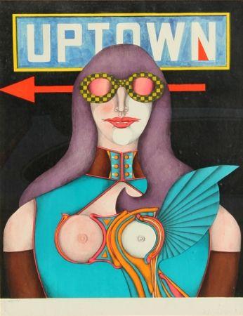 Литография Lindner - Uptown