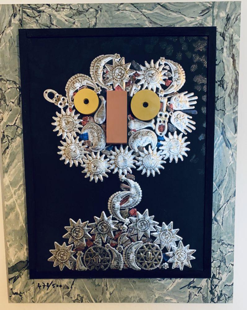Многоэкземплярное Произведение Baj - Urania degli amuleti