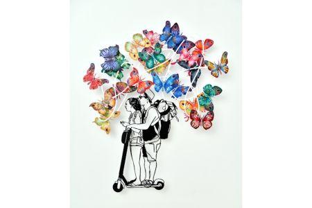 Многоэкземплярное Произведение Gerstein - Urban Dream Butterflies