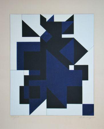 Сериграфия Vasarely - Utica