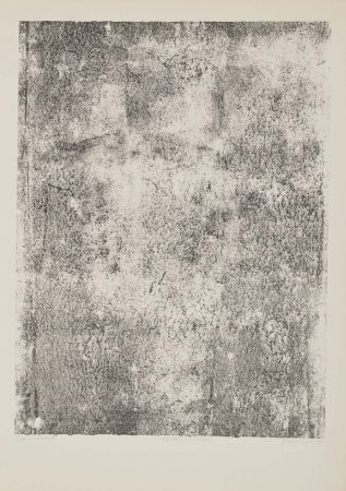 Литография Dubuffet - Végétation primordiale