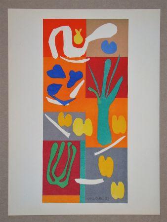 Литография Matisse (After) - Végétaux - 1952