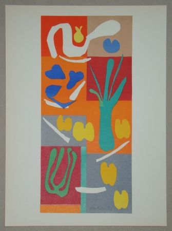 Литография Matisse - Végétaux, 1952