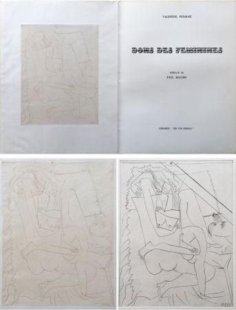 Иллюстрированная Книга Picasso - Valentine Penrose : DONS DES FÉMINIES (1951). 1 des 50 avec une eau-forte en 2 états.