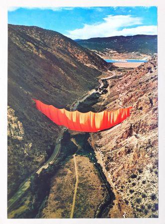 Гашение Christo - Valley curtain, Rifle - Colorado 4-4