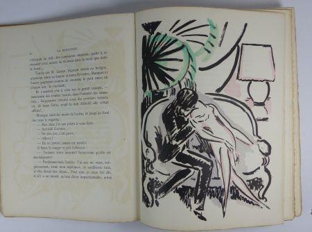 Иллюстрированная Книга Van Dongen - [Van Dongen] Victor Margueritte. La Garçonne. Ex. sur Hollande