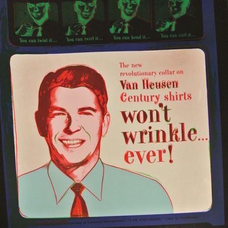 Сериграфия Warhol - Van Heusen (Ronald Regan) (FS II.356)