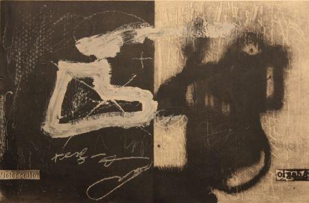 Литография Tapies - Variations 13
