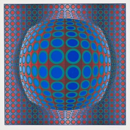 Сериграфия Vasarely - Vega