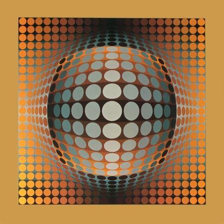 Гашение Vasarely - Vega – Zett – 2, 1971