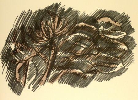 Литография Morlotti - Vegetali