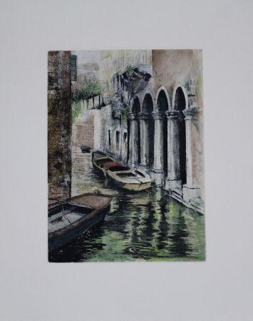 Офорт И Аквитанта Schibli - Venedig / Venice