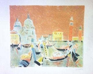 Литография Truphemus - Venise