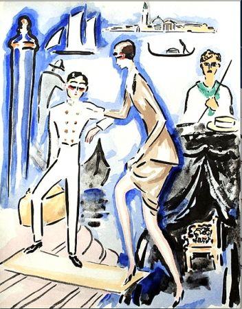 Трафарет Van Dongen - Venise- The Arrival