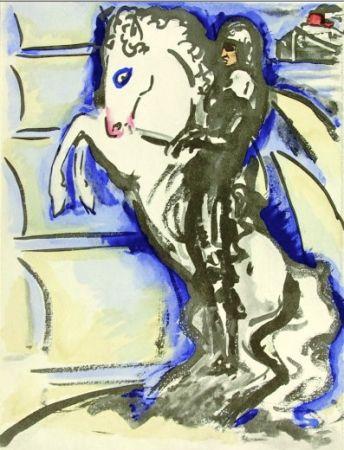 Трафарет Van Dongen - Venise- The horse rider