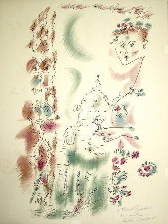 Литография Masson - Venise en fleurs