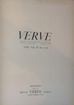 Иллюстрированная Книга Picasso - Verve 25 et 26