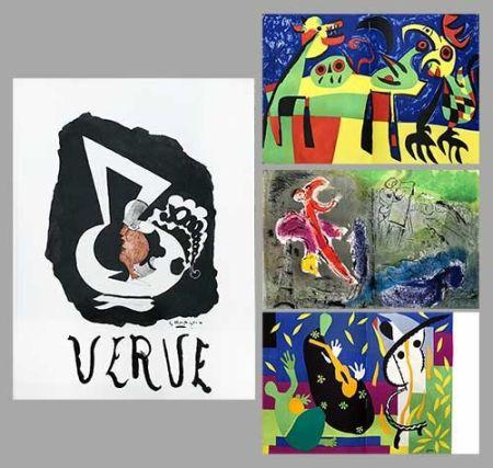 Иллюстрированная Книга Chagall - Verve 27 28