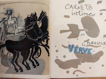 Иллюстрированная Книга Braque - Verve 31 32