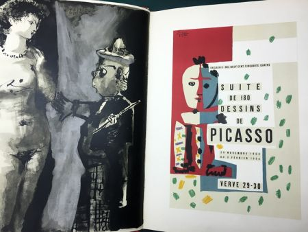 Иллюстрированная Книга Picasso - VERVE N° 29-30. PICASSO AND THE HUMAN COMEDY. A suite of 180 drawings by Picasso (Vallauris, suite de 180 dessins de Picasso)