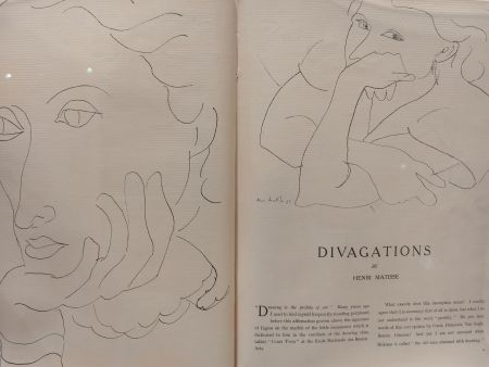 Иллюстрированная Книга Matisse - Verve no 1