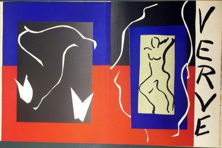 Литография Matisse - VERVE Vol. I n° 1. COUVERTURE À PLAT À GRANDES MARGES
