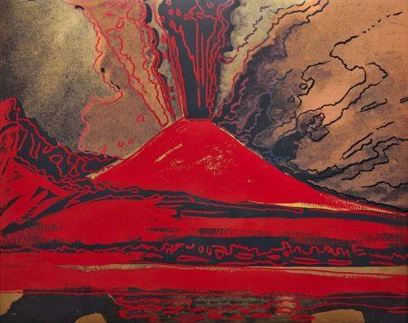 Сериграфия Warhol - Vesuvius (FS II.365)
