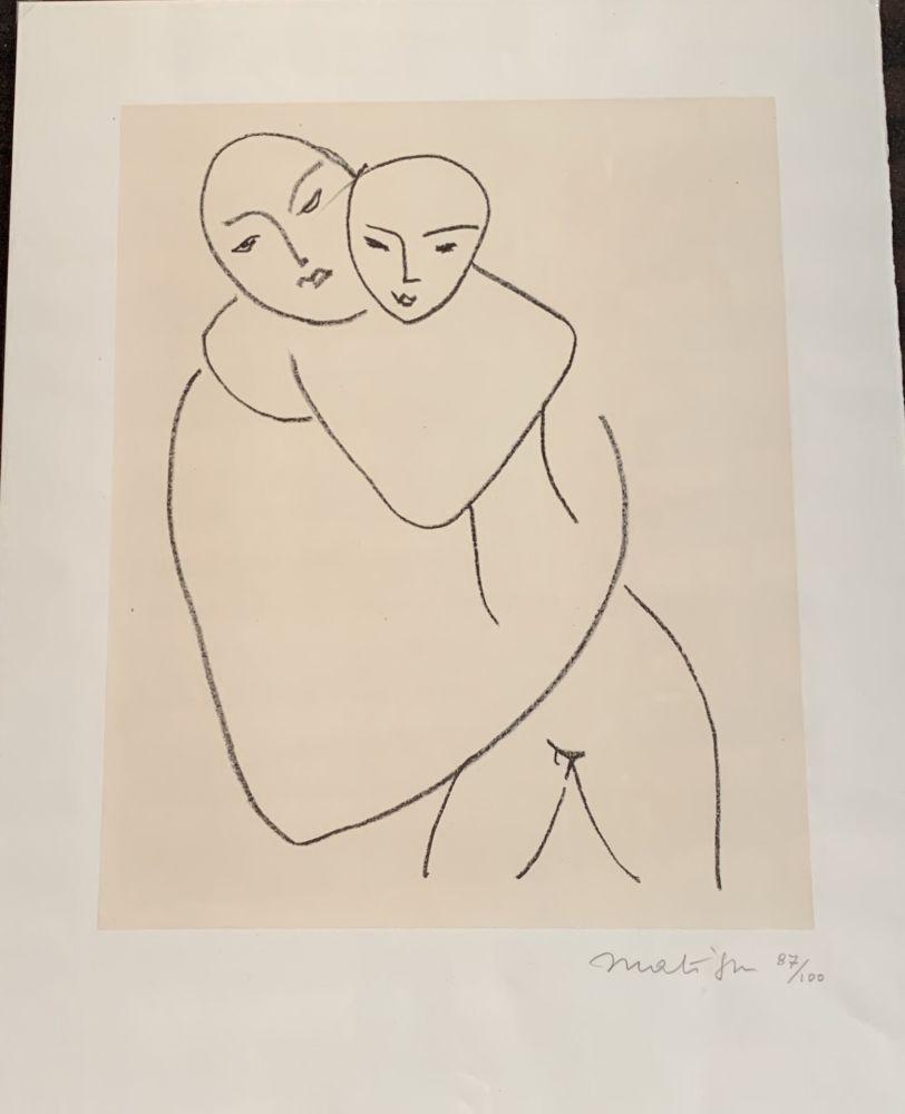 Литография Matisse - Vierge et l'enfant