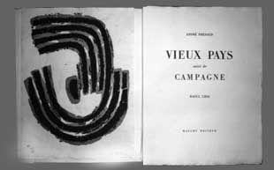 Иллюстрированная Книга Ubac - Vieux pays