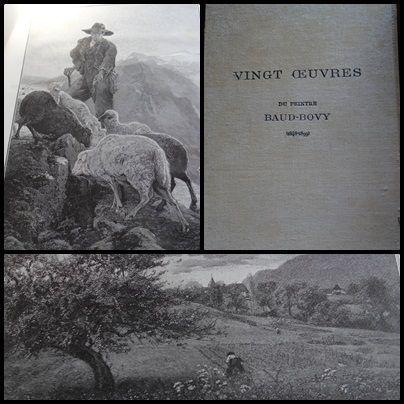 Гравюра На Дереве Baud-Bovy - Vingt oeuvres du peintre Baud-Bovy (1848-1899)