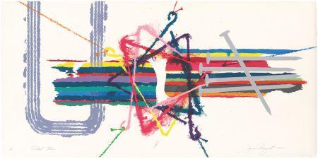 Литография Rosenquist - Violent Turn