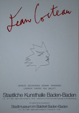 Афиша Cocteau - Visage
