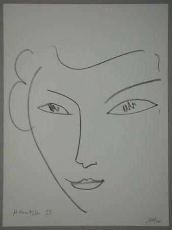 Литография Matisse - Visage
