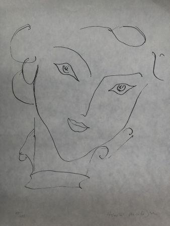 Литография Matisse - Visage de femme 45X60 CM EDITION CAHIERS D'ART