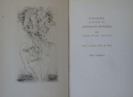Иллюстрированная Книга Wols - Visages