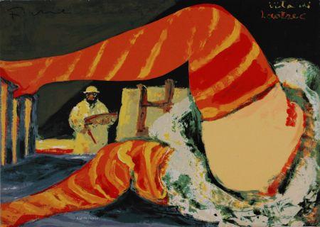 Сериграфия Fiume - Vita di Lautrec