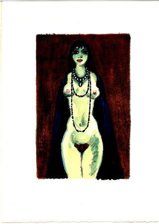 Иллюстрированная Книга Van Dongen - Voltaire : LA PRINCESSE DE BABYLONE. 48 lithographies en couleurs (1948)